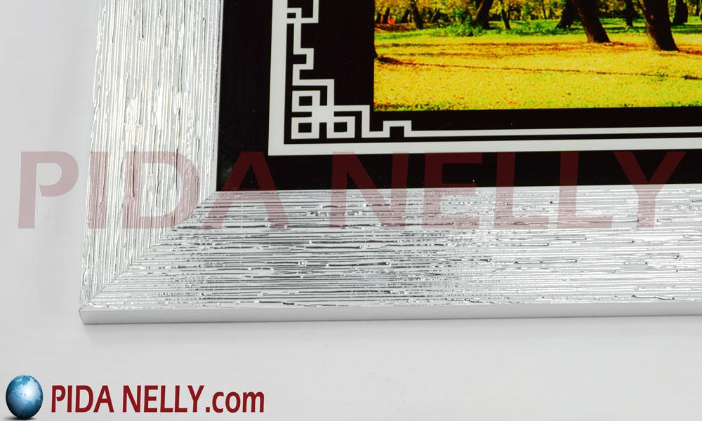 تابلوهات مودرن باطار فضي للديكورات الموردن WP-SL-266. احجز / احجزي الآن فالكمية محدودة